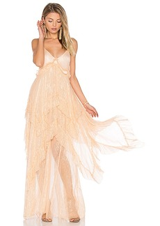Free People Midnight Rendezvous Maxi Dress in Pink. - size 0 (also in 2,4,6,8)