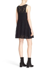 Free People 'Miles of Lace' Fit & Flare Dress