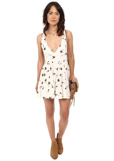Free People Mini's For You Printed Mini Dress