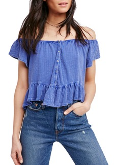 Free People Mint Julep Tee