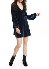 Free People Misha Velvet Minidress