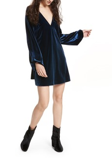 Free People Misha Velvet Minidress