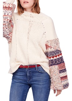 Free People Mixed & Mended Sweater
