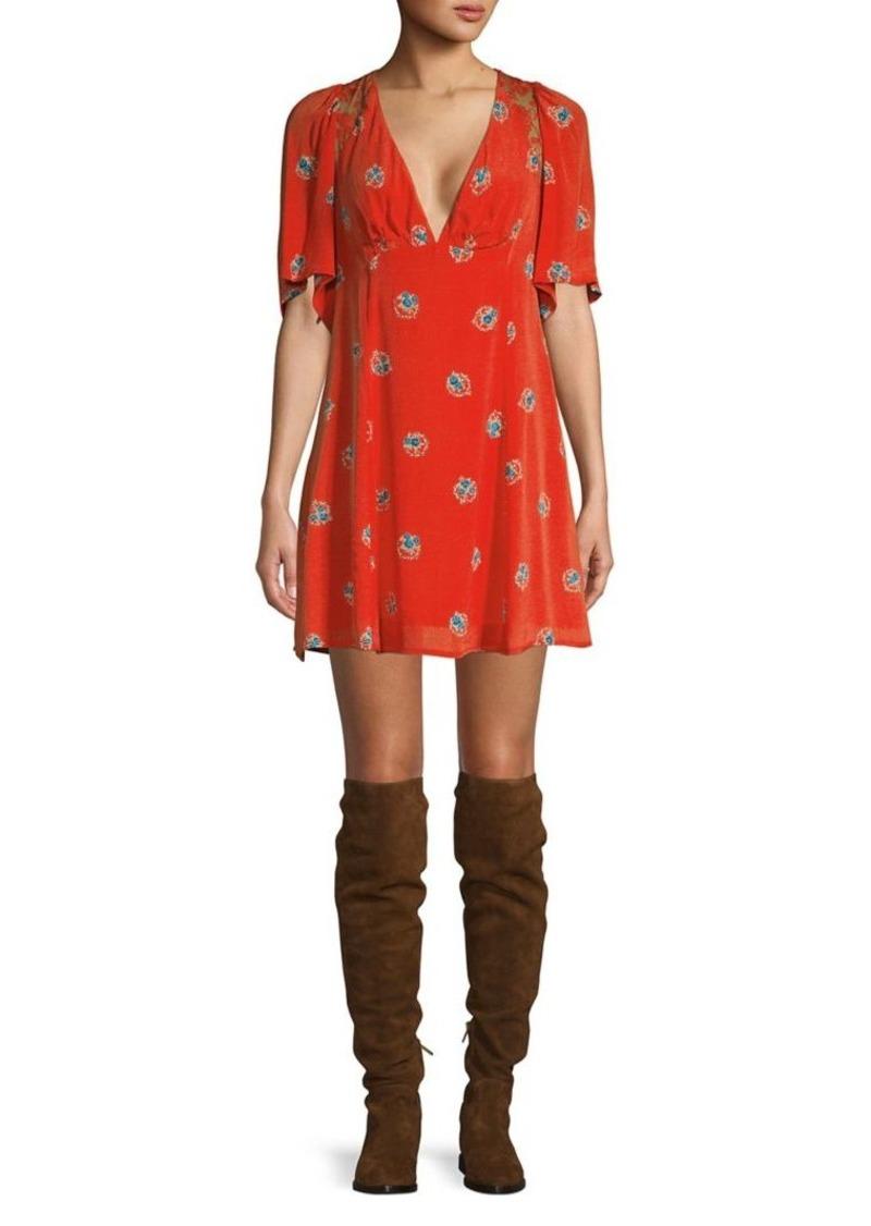 Free People Mockingbird Mini Dress