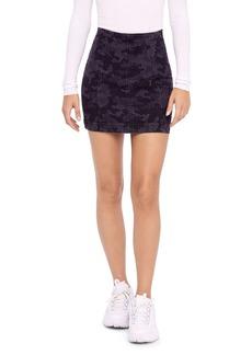 Free People Modern Femme Camo Mini Skirt