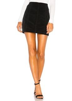 Free People Modern Femme Cord Mini Skirt