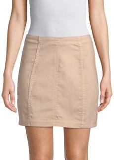 Free People Modern Femme Denim Mini Skirt