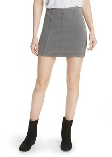 We the Free by Free People Modern Femme Denim Miniskirt