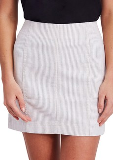 We the Free by Free People Modern Femme Pinstripe Skirt