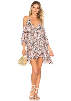 Free People Monarch Mini Dress in Mauve. - size S (also in L,XS)