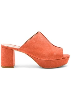 Free People Moody Mule in Coral. - size 39 (also in 38,41)