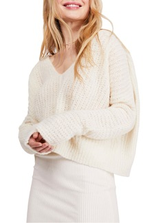 Free People Moonbeam V-Neck Sweater