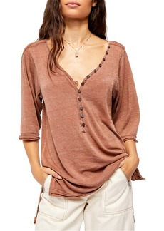 Free People Morgan Henley Shirt