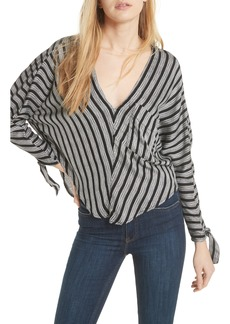 Free People Morning Stripe Dolman Top