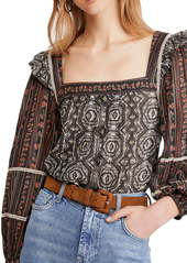 Free People Mostly Meadow Blouse