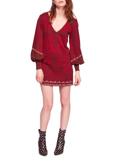 Free People Music & Lyrics Minidress
