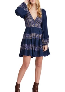 Free People My Love Long Sleeve Minidress