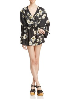 Free People New Tuscan Dreams Printed Tunic Dress