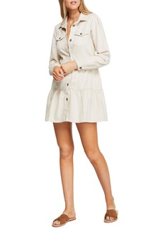 Free People Nicole Long Sleeve Shirtdress