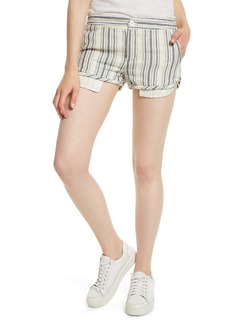 Free People Night Moves Stripe Shorts