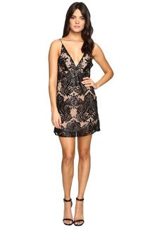 Free People Night Shimmer Mini Dress