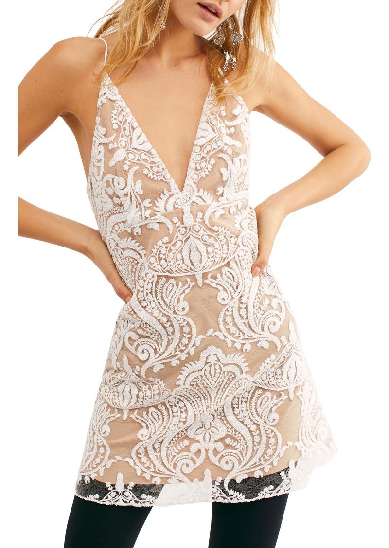 Free People Night Shimmer Minidress
