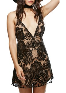Free People Night Shimmer Minidress