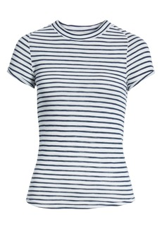 Free People Night Sky Stripe Tee