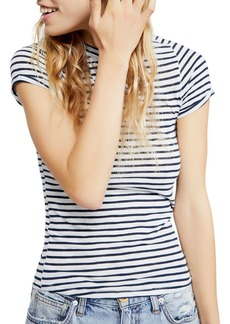 Free People Night Sky Striped Tee