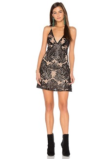 Free People Night Summer Mini Dress in Black. - size 0 (also in 10,2,4,6,8)