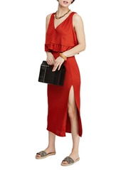 Free People No Excuses Two-Piece Ribbed Dress