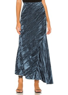 Free People Noa Velvet Slip Skirt