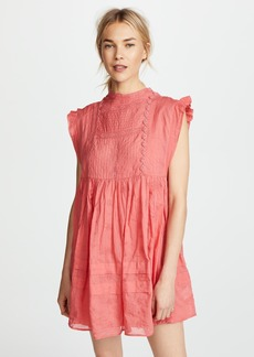 Free People Nobody Like You Embellished Mini Dress