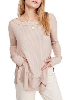 Free People North Shore Thermal Knit Tunic Top