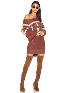 Free People Northern Lights Sweater Mini Dress