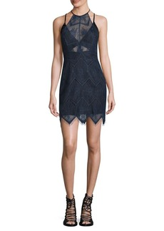 Free People Nothing Like This Lace Mini Dress