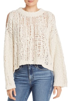 Free People Ocean Cold-Shoulder Sweater