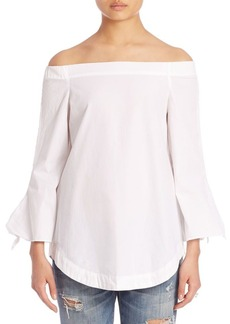 Free People Off-the-Shoulder Bell-Sleeves Tunic