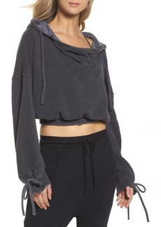 Free People Movement Ojai Crop Hoodie