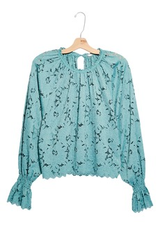 Free People Olivia Lace Top