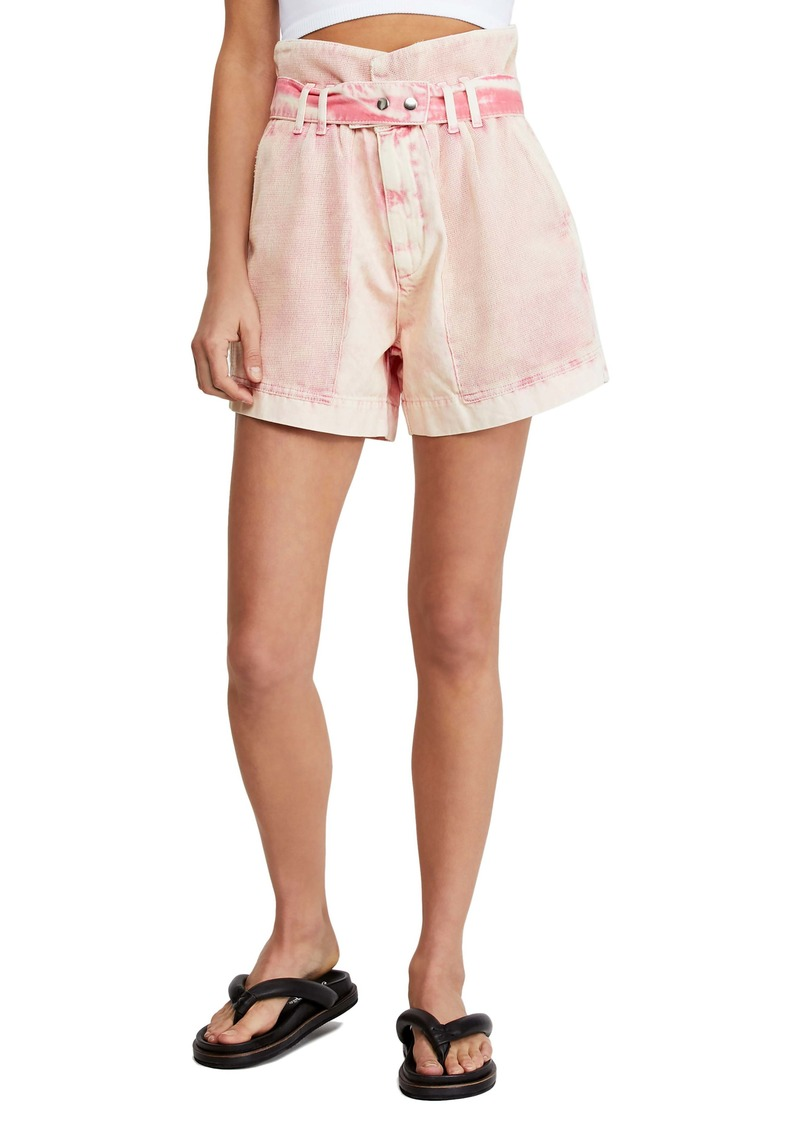 Free People Olivia Paperbag Waist Shorts