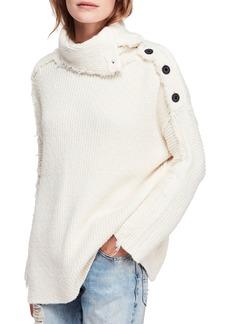 Free People On My Side Turtleneck Sweater