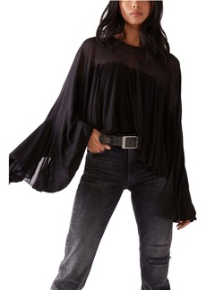 Free People On the Weekend Bell Sleeve Blouse