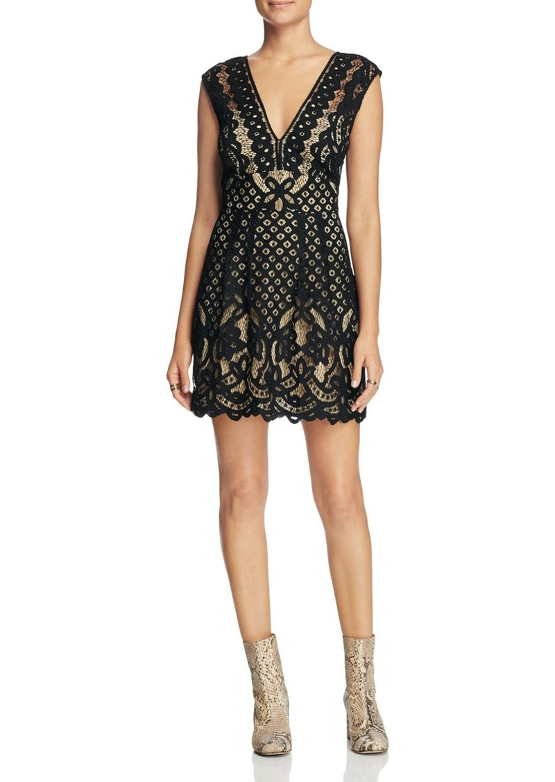 Free People One Million Lovers Lace Dress