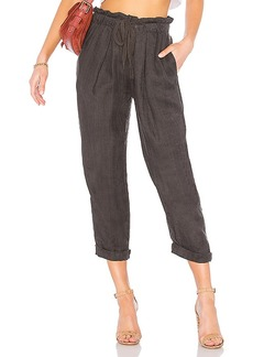 Free People Only Over You Linen Trouser