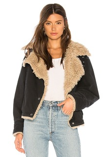 Free People Owen Faux Fur Sherpa Jacket