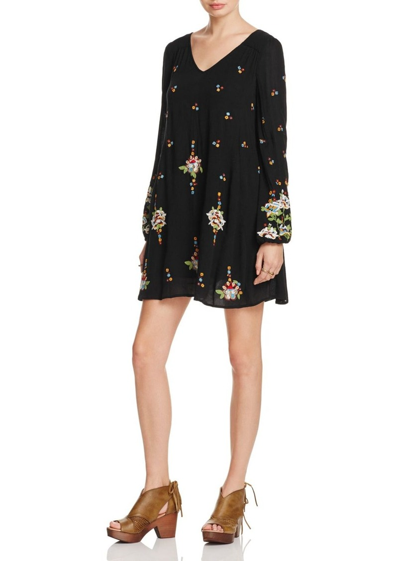 527d90acf66d Free People Free People Oxford Embroidered Mini Dress | Dresses