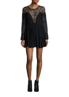 Free People Panama Embroidered Lace Dress