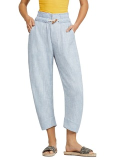 Free People Paradise Toggle Straight-Leg Pants