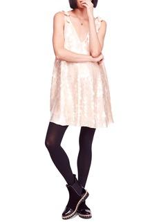 Free People Penelope Glitter Disc Sequin Swing Dress